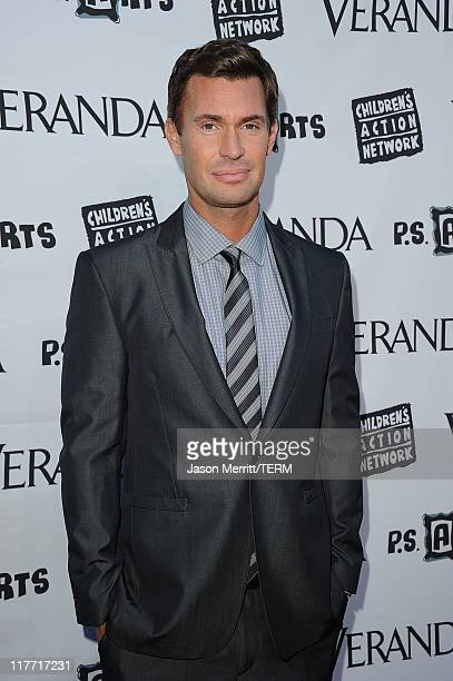 Jeff Lewis attends the Veranda Unveils The House of Windsor cocktail party on June 29 2011 in Los Angeles California
