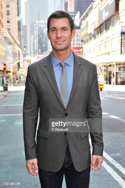 Jeff Lewis visits Extra in Times Square on July 8 2013 in New York City