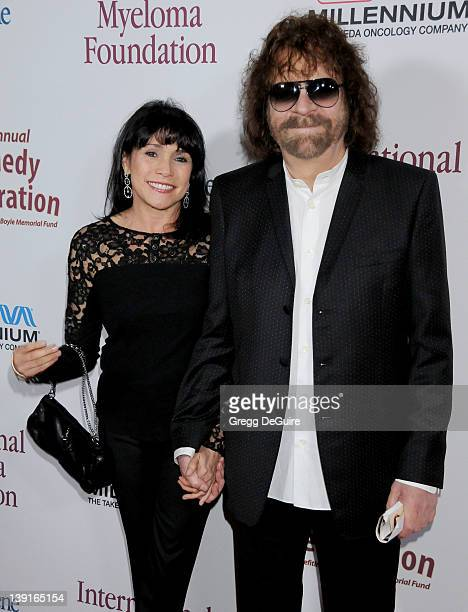 Jeff Lynne and Camelia Kath arrive at the 3rd Annual Comedy Celebration For The Peter Boyle Memorial Fund at the Wilshire Ebell Theatre and Club on...