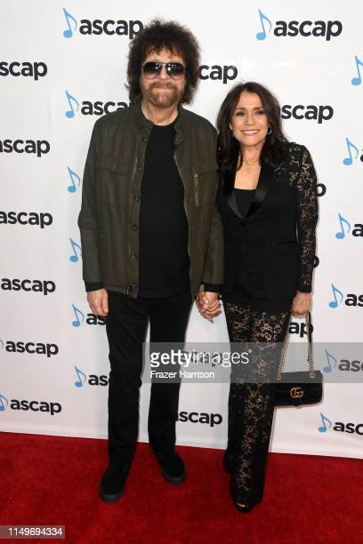 Jeff Lynne and Camelia Kath attend the 36th annual ASCAP Pop Music Awards at The Beverly Hilton Hotel on May 16 2019 in Beverly Hills California