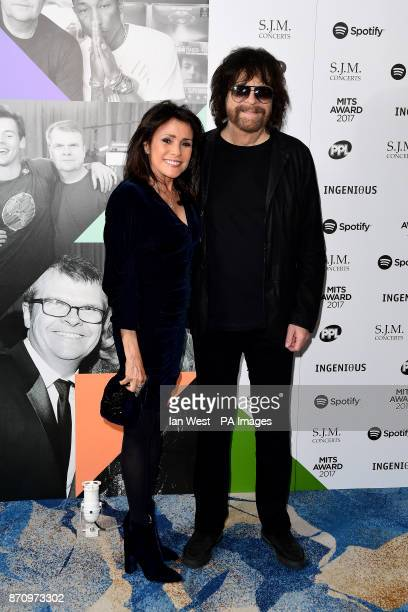 Jeff Lynne and Camelia Kath attending the Music Industry Trusts Award in aid of charities Nordoff Robbins and Brit Trust at the Grosvenor House Hotel...