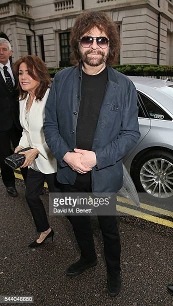 Jeff Lynne arrives at the Nordoff Robbins O2 Silver Clef Awards at The Grosvenor House Hotel on July 1 2016 in London England