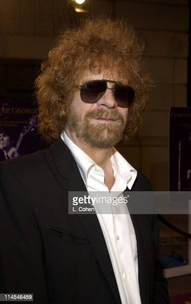 Jeff Lynne at the premiere of 'Concert for George' a new documentary film celebrating the music of George Harrison through performances by legendary...