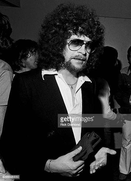 Jeff Lynne of ELO attends press reception at the Peachtree Plaza in Atlanta Georgia July 06 1978