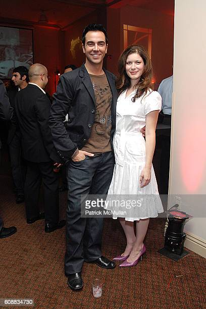 Jeff Marchelletta and Lauren Maher attend 2007 LA Fashion Awards Presented by Saturn at Orpheum Theater on October 26 2007 in Los Angeles CA