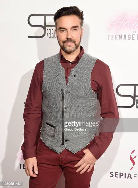 Jeff Marchelletta arrives at the premiere of SP Releasing and Sepia Films' Anthem Of A Teenage Prophet at TCL Chinese 6 Theatres on January 10 2019...