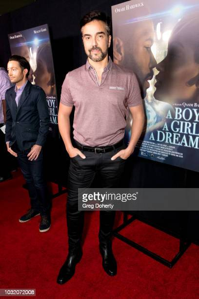 Jeff Marchelletta attends the Premiere Of Samuel Goldwyn Films' A Boy A Girl A Dream at ArcLight Hollywood on September 11 2018 in Hollywood...