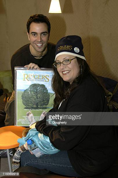 Jeff Marchelletta producer of Ringers Lord of the Fans and Carlene Cordova director of Ringers Lord of the Fans