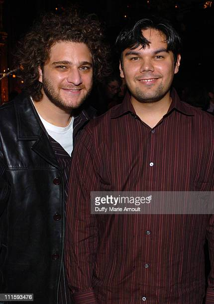 Jeff Marx and Bobby Lopez during 2004 Starving Artist Ball at Angel Orensanz Foundation in New York City New York United States