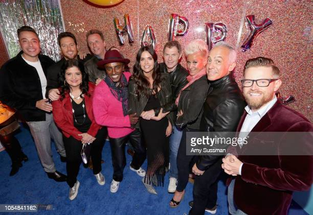 Jeff Mauro Scott Conant Alex Guarnaschelli Marc Murphy Marcus Samuelsson Katie Lee Bobby Flay Anne Burrell Geoffrey Zakarian and Richard Blais attend...