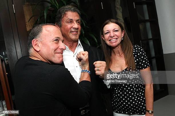 Jeff Miller Sylvester Stallone and Esther Miller attend DuJour Magazine's Jason Binn Celebrates Annual Art Basel Miami Beach KickOff Party presented...