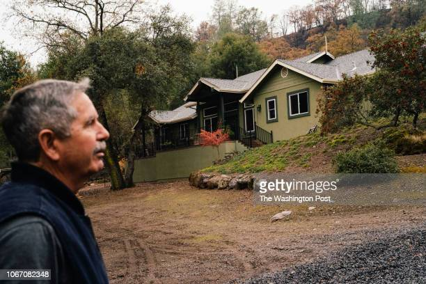 Jeff Moore photographed at his home following the Camp Fire in Chico California on Tuesday November 27 2018 The Moore's worked on their property's...