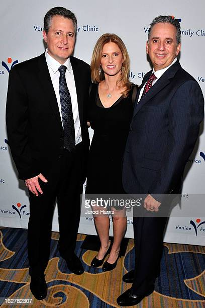 Jeff Nathanson Julie Liker and Dr Harley Liker arrive at the 34th Annual Silver Circle Gala benefitting the Venice Family Clinic at the Beverly...
