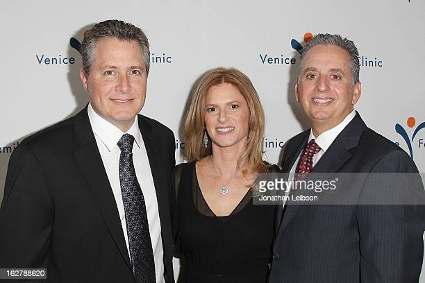 Jeff Nathanson Julie Liker and Harley Liker attend the Silver Circle Gala at the Beverly Wilshire Four Seasons Hotel on February 26 2013 in Beverly...