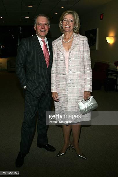 Jeff Peek and Liz Peek attend School of American Ballet Workshop Performance Benefit Dinner at School of American Ballet on June 6 2005 in New York...