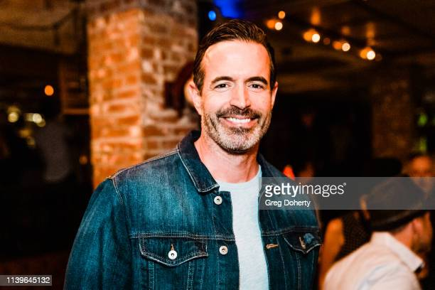 Jeff Perkins attends Hilary Barraford's Birthday Party held at Madame Siam on April 26 2019 in Los Angeles California
