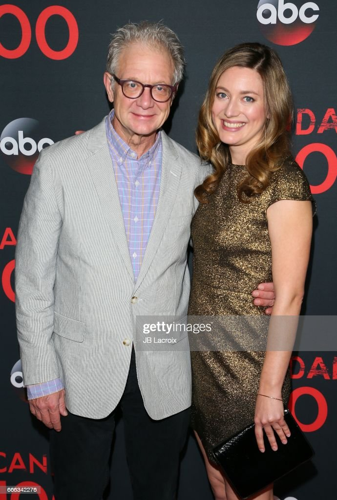 Jeff Perry And Zoe Perry Attend Abc S Scandal 100th