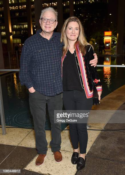 Jeff Perry and Zoe Perry attend Center Theatre Group's Opening Night Performance Of Linda Vista at Mark Taper Forum on January 16 2019 in Los Angeles...