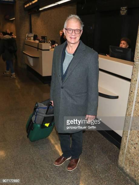 Jeff Perry is seen at Salt Lake City International Airport on January 18 2018 in Park City Utah