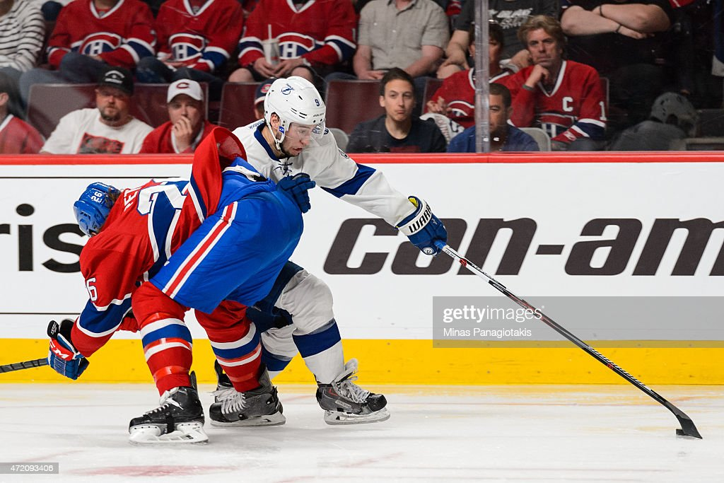 Tampa Bay Lightning v Montreal Canadiens - Game Two : News Photo