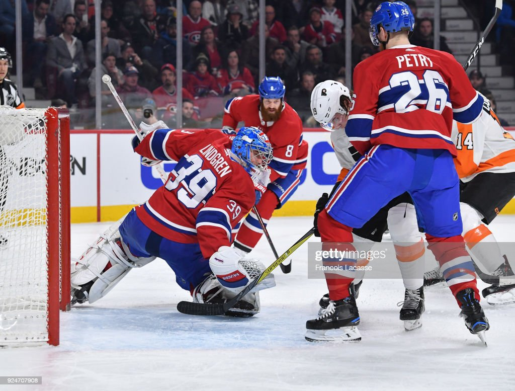 Philadelphia Flyers v Montreal Canadiens : News Photo