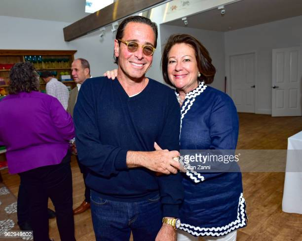 Jeff Pfeifle and Jean Shea attend ARF Thrift Shop Designer Show House Sale at ARF Thrift Treasure Shop on May 26 2018 in Sagaponack New York