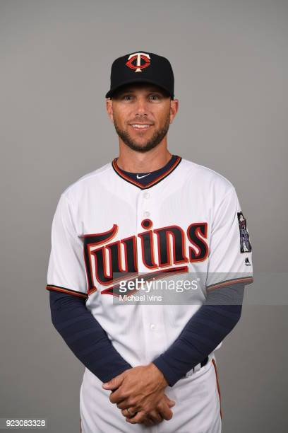 Jeff Pickler of the Minnesota Twins poses during Photo Day on Wednesday February 21 2018 at CenturyLink Sports Complex in Fort Myers Florida