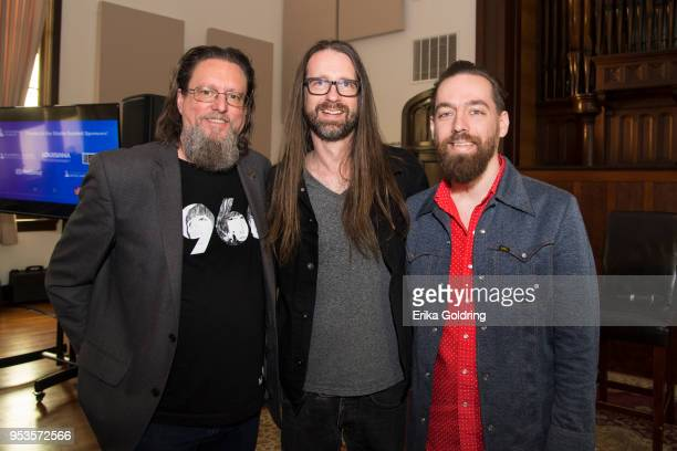 Jeff Powell Chris Bell and Matt RossSprang attend the Recording Academy Studio Summit at Esplanade Studios on May 1 2018 in New Orleans Louisiana