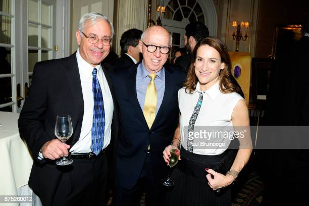 Jeff Pressman Allan Katz and Margot Rosenberg attend the American Folk Art Museum Annual Gala at JW Marriott Essex House on November 16 2017 in New...