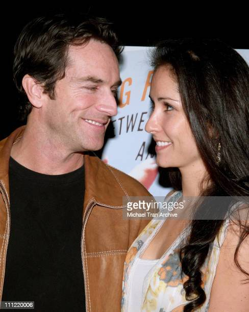 Jeff Probst and Julie Berry during Craig Ferguson's Between the Bridge and the River Book Launch Party at The Tropicana Bar in Hollywood at The...