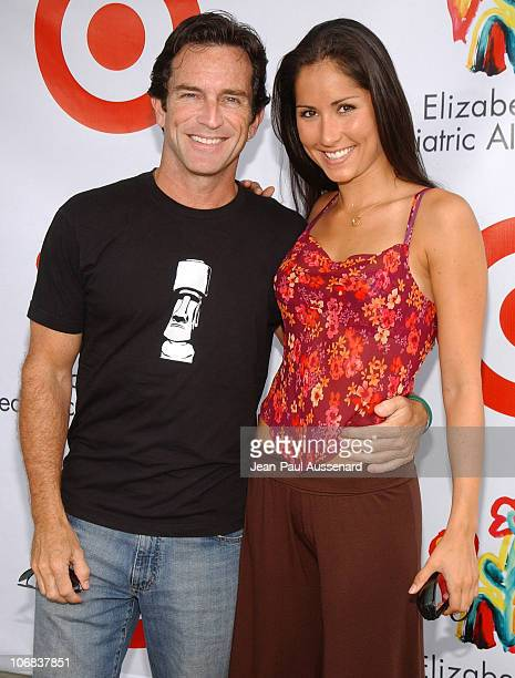 Jeff Probst and Julie Berry during Elizabeth Glaser Pediatric AIDS Foundation 2005 A Time For Heroes Celebrity Carnival Arrivals in Los Angeles...