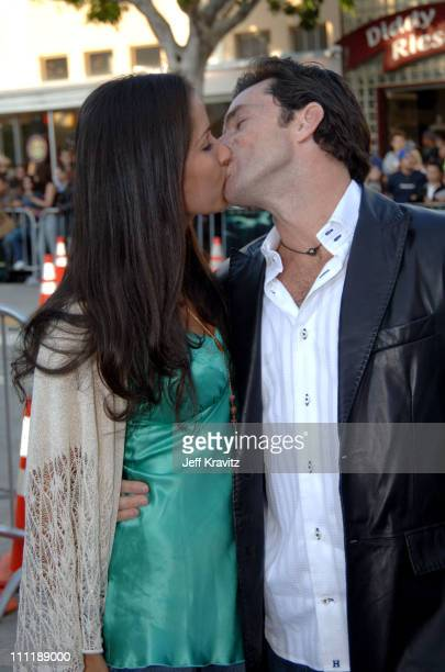 Jeff Probst and Julie Berry during House of Wax Los Angeles Premiere Arrivals at Mann Village in Los Angeles California United States