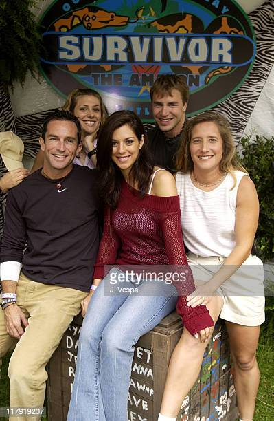 Jeff Probst and Survivor Amazon at the Target A Time for Heroes Celebrity Carnival Benefitting the Elizabeth Glaser Pediatric AIDS Foundation