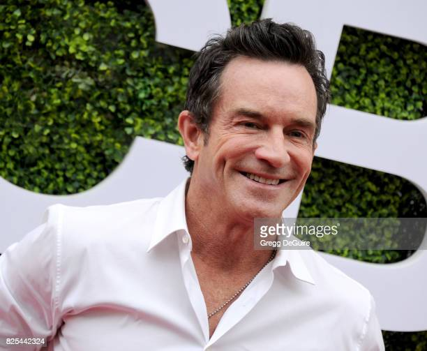 Jeff Probst arrives at the 2017 Summer TCA Tour CBS Television Studios' Summer Soiree at CBS Studios Radford on August 1 2017 in Studio City...