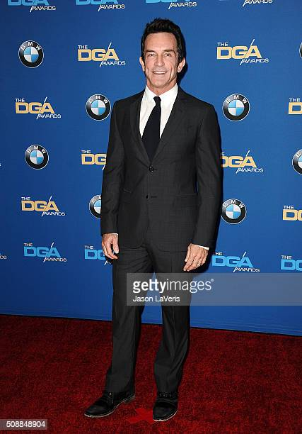 Jeff Probst attends the 68th annual Directors Guild of America Awards at the Hyatt Regency Century Plaza on February 6 2016 in Los Angeles California