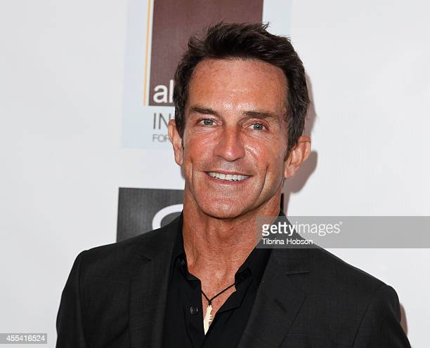 Jeff Probst attends the Face Forward gala supporting victims of domestic abuse at Millennium Biltmore Hotel on September 13 2014 in Los Angeles...