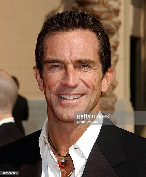 Jeff Probst during 2003 Emmy Creative Arts Awards Arrivals at Shrine Auditorium in Los Angeles California United States