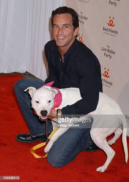 Jeff Probst during 2004 Annual Lint Roller Party at Hollywood Athletic Club in Hollywood California United States