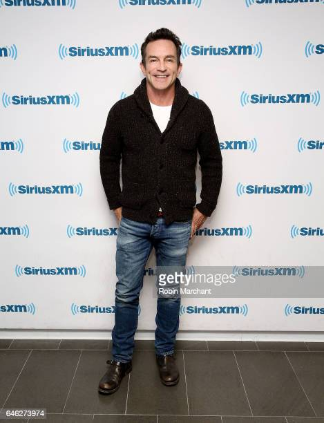 Jeff Probst visits at SiriusXM Studios on February 28 2017 in New York City