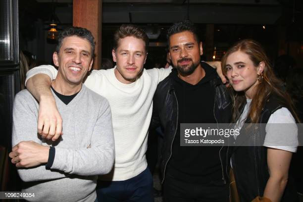 Jeff Rake Josh Dallas JR Ramirez and Melissa Roxburgh attend the SCAD aTVfest and Entertainment Weekly party at Lure on February 8 2019 in Atlanta...