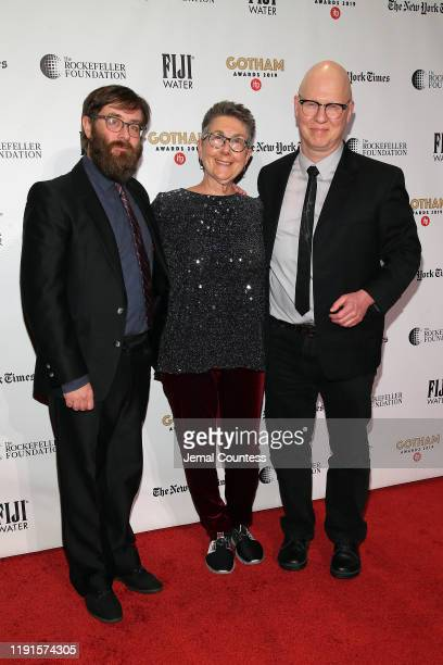 Jeff Recihert Julia Reichert and Steven Bognar attend the IFP's 29th Annual Gotham Independent Film Awards at Cipriani Wall Street on December 02...