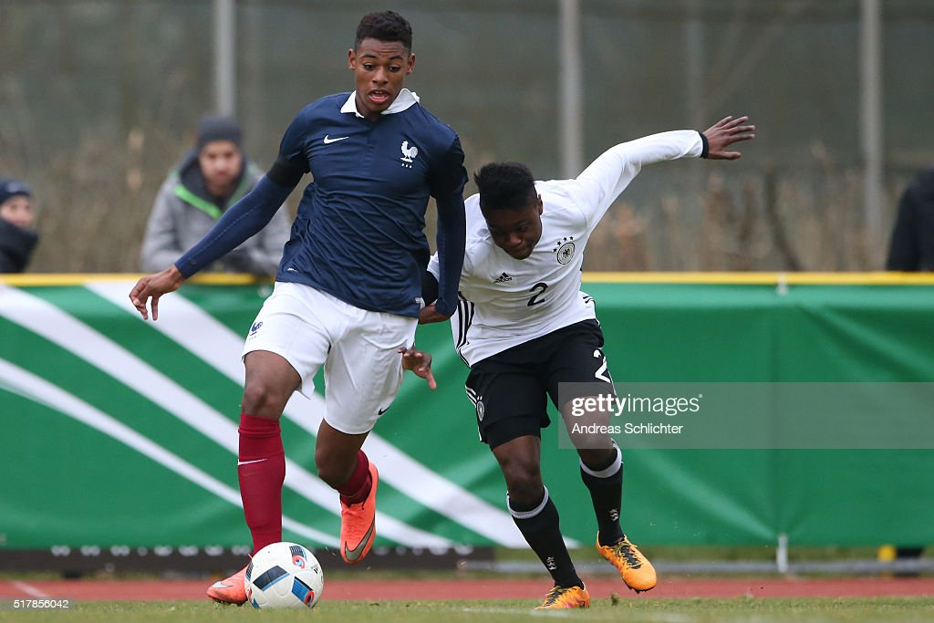 U18 Germany v U18 France - International Friendly : News Photo