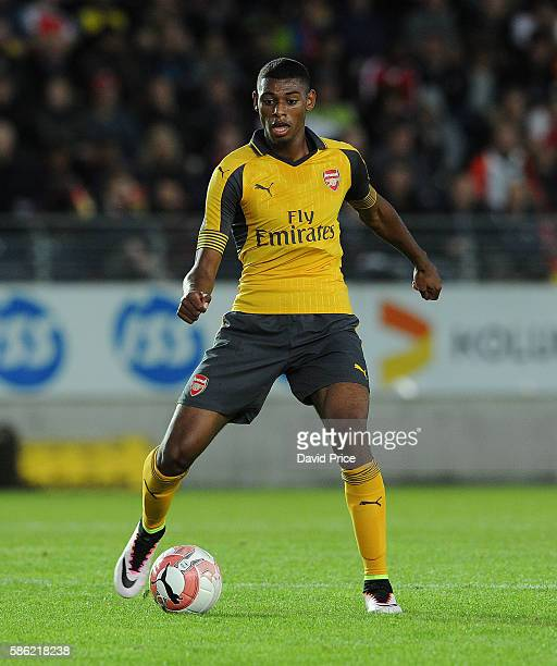 Jeff ReineAdelaide of Arsenal during the match between Viking FK and Arsenal at Viking Stadion on August 5 2016 in Stavanger Norway