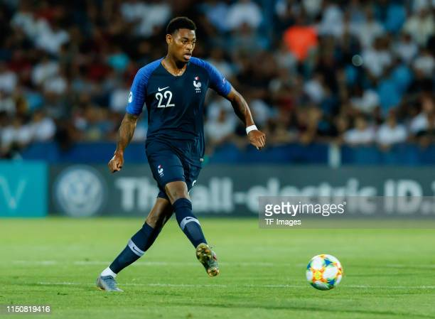Jeff Reine-Adelaide of France controls the ball during the 2019 UEFA U-21 Championship Group C match between England and France at Dino Manuzzi...