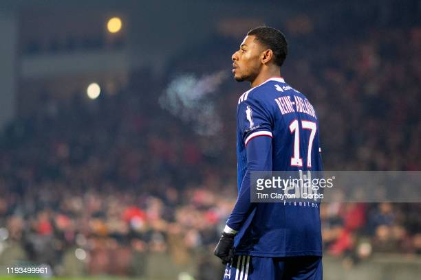 December 6: Jeff Reine-Adelaide of Lyon during the Nimes V Lyon, French Ligue 1, regular season match at Stade des Costières on December 6th 2019,...