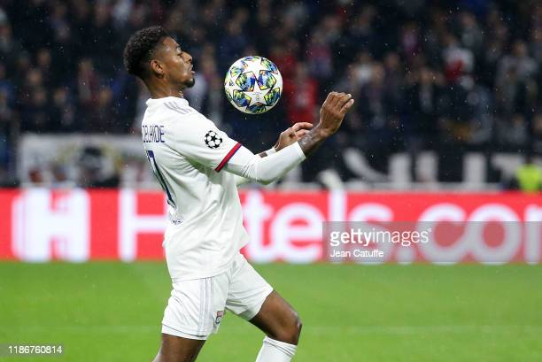 Jeff Reine-Adelaide of Lyon during the UEFA Champions League group G match between Olympique Lyonnais and SL Benfica at Groupama Stadium on November...