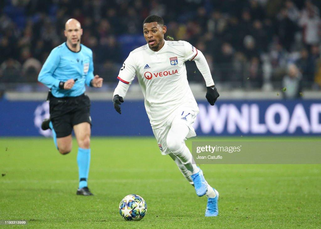Olympique Lyonnais v RB Leipzig: Group G - UEFA Champions League : News Photo