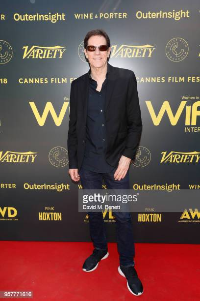 Jeff Rice attends as WIFT International with Variety Alliance of Women Directors host a cocktail party during the 71st Cannes Film Festival supported...