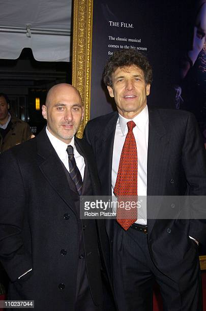 Jeff Robinov and Alan Horn of Warner Bros during Premiere of The Phantom of the Opera New York at The Ziegfeld Theatre in New York City New York...