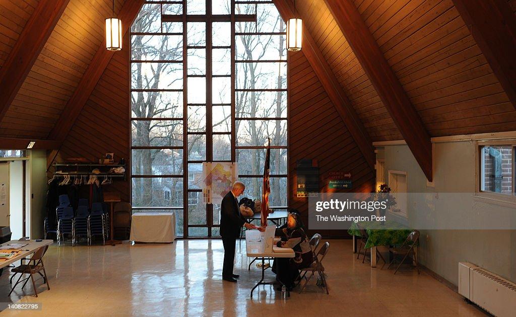 Republican Presidential Primary Election in Virginia : News Photo